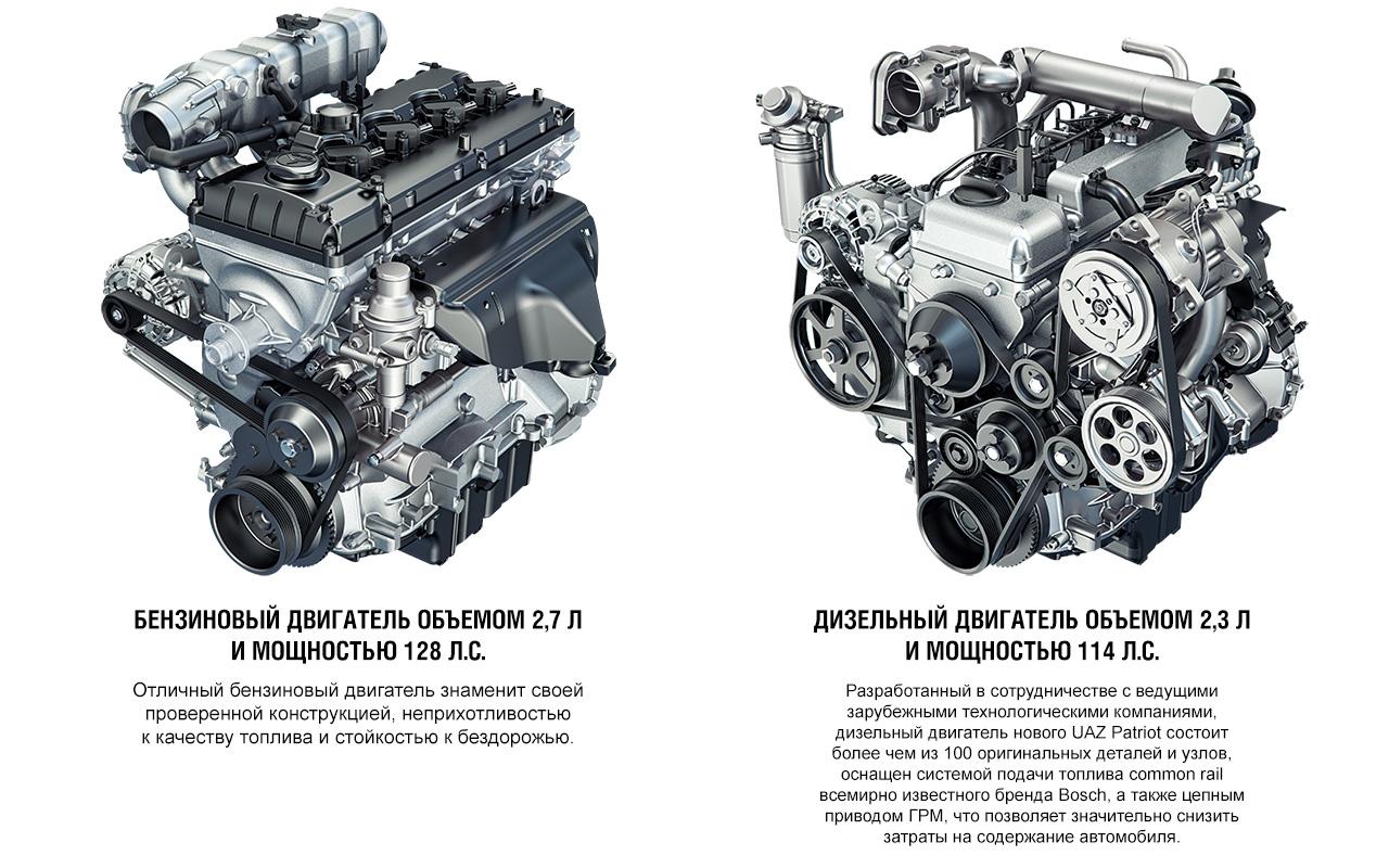 Новый уаз патриот дизельным двигателем